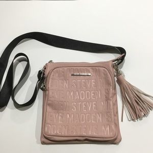 NEW without tags Steve Madden pink crossbody bag